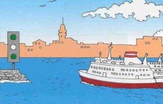 Un bateau ne peut passer que s`il a recu les instructions speciales l`y autorisant a nantes.