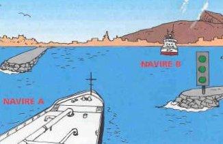 Les bateaux peuvent passer trafic a sens unique pour nantes,